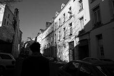 street photo in France France, Street Photo, Monochrome, Gun, Monochrome Painting, Firearms, Pistols, Revolvers, Weapon