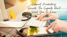 Internet Marketing Secrets The Experts Don't Want You To Know Marketing Tools, Internet Marketing, Online Marketing, Business Help, Online Business, Make A Word Cloud, Video Site, Ways To Communicate
