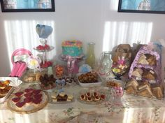 Vintage tea party...created by Playtime Party Kids ❤