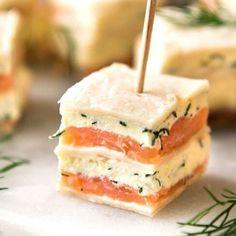 Cream Cheese Sandwiches, Sandwich Cream, Appetizer Sandwiches, High Tea Sandwiches, Smoked Salmon Sandwich, Tea Sandwich Recipes, Smoked Salmon Platter, Champagne Brunch, Kitchens