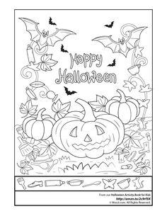 halloween activity book 2 - Halloween Printable Book 2