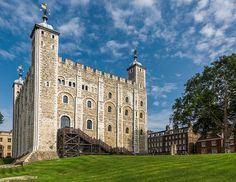 The White Tower ~ Tower of London ~ London, England