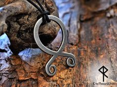 Beautiful Prosperity viking rune hand carved pine wood pendant with resin  wooden pendant gift norse pendant viking amulet mjolnir jewelry