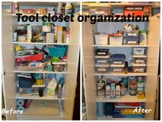 Beau Make A Tool Shed In A Closet To Keep Quick DIY Projects Easy! | DIY Tricks  And Cleaning Tips | Pinterest