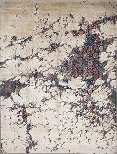 Jan Kath Erased Heritage collection rug