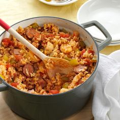 My Best-Ever Jambalaya Recipe -I tried to mimic Jambalaya from my favorite restaurant and it turned out so well my daughter and husband now prefer my recipe and won't order it when we go to the restaurant! —Alexis Van Vulpen, St. Albert, Alberta