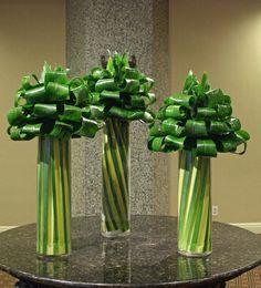 Contemporary Floral Arrangements for Lobby | Florist Friday Recap 8/18 – 8/24: Ritz & Glitz Summer Florals