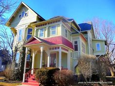 """Victorian HOME TOUR and information"" - Victorian Guided Tours of The ""Victorian Homes Experience"", Elmira, NY, Finger Lakes Region"