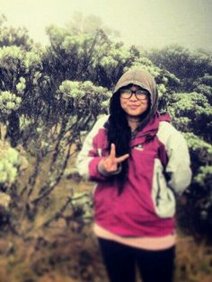 At my lovely place... Mandalawangi ♥