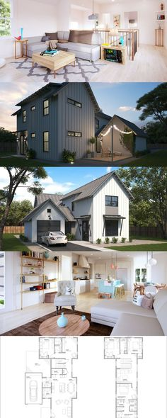 Farm house floor plans modern farmhouse 2 story farmhouse plan for sale 4 bed 3 bath farmhouse floor plans with pictures Farmhouse Layout, Modern Farmhouse Design, Farmhouse Remodel, Farmhouse Plans, Modern House Design, Farmhouse Flooring, Urban Farmhouse, Farmhouse Interior, French Farmhouse