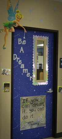 We think Tinkerbell would be pretty excited to enter this classroom!