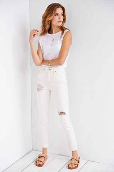 BDG Twig High-Rise Jean - Pebble Beach - Urban Outfitters