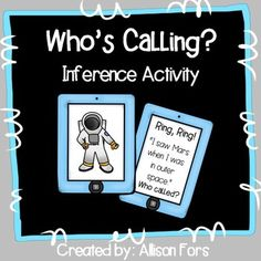 Who's Calling? An engaging inference activity to play multiple ways.
