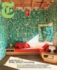 Doug Aitken's house featured on NYT Style Magazine #InteriorDesign