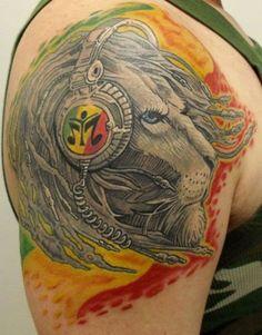 41 Best Jamaincan Lion Tattoos For Women Images Rasta Tattoo