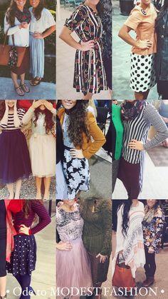 • Ode to MODEST FASHION • #Modest #Outfits #Apostolic #Fashion