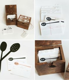 Wooden Recipe Card Box from Rifle Paper Co. $130