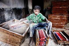 La série Angels in hell du photographeGMB Akash, qui a capturé des images saisissantes et très fortesdénonçant letravail des enfants au Bangladesh. D