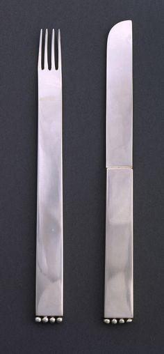 "Dessert Knife, ""Flat Model (Flaches Modell)"", 1903, designed by Josef Hoffmann"