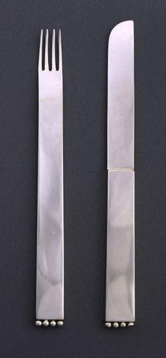 """Dessert Knife, """"Flat Model (Flaches Modell)"""", 1903, designed by Josef Hoffmann"""