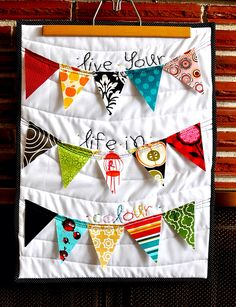 Love this mini quilt