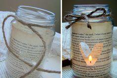 Que tal inovar na decoração da mesa do dia dos namorados? Veja opasso a passo para fazer uma luminária ideal para um jantar à luz de velas.