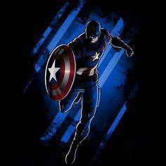 American Hero t-shirt Marvel TeeTurtle