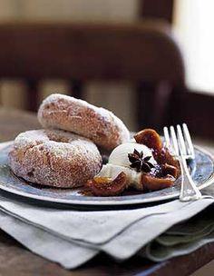 Ginger Doughnuts Photo - Doughnuts Recipe | Epicurious.com