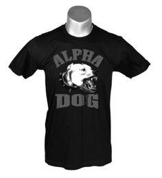 Alpha Dog - Black Men's t-shirt $19.95 http://streetlegaltshirts.com/ #T #Shirts #tshirt #Funny #Vintage #Women #Men #Movie #Unique #Logo #Band #beer #Offensive #Fashion #skull #vespa #ringer #motorcycle