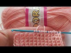 TUNUS İŞİ FİL DİŞİ MODELİ💞Harika/Tunus işi patik modelleri - YouTube Tunisian Crochet Patterns, Baby Knitting Patterns, Knit Crochet, Crochet Backpack Pattern, Woolen Flower, Crochet Tablecloth, Bargello, Baby Sweaters, Diy And Crafts