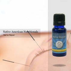 Repair damaged nerves - Stimulate circulation - Fight infections   Contains:  Basil, Helichrysum italicum,  Peppermint, and Marjoram blended in a base of wild fractionated coconut oil. Traditional Application: massage into the area where the nerves have been damaged, apply a cold compress, relax for 15 minutes. For earache: apply a couple of drops to cotton, place in the ear. Massage on shoulders, neck, across forehead for stress, tension. For fever add carrier oil, massage the head and…