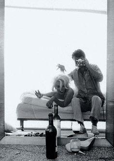 Marilyn Monroe and Bert Stern