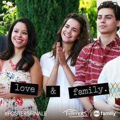 We love The Fosters family. Watch them tonight in the summer finale at 9/8c on ABC Family!