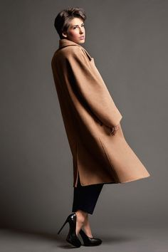 Anna Russka Max Mara Coat fashion Photo session Trends