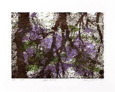 Jelena Sredanović - Art in Print Somerset, Various Artists, Reflection, Purple, Prints, Satin, Beautiful, Shop, Woodblock Print