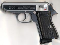 Walther PPK, James Bond's bestfriend :)