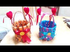 Handmade Craft Ideas - Kids DIY Foam Basket - Tutorial . - http://www.knittingstory.eu/handmade-craft-ideas-kids-diy-foam-basket-tutorial/