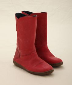 Red (well port apparently) boots. £79.95