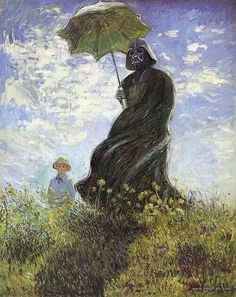 .I am really starting to like some serious Star Wars oil paintings
