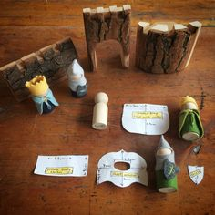 've had a lot of people ask for a pattern for the pegdoll knights my and I made recently for my son's birthday 😊 I actually made Source by birob dolls Wood Peg Dolls, Clothespin Dolls, Waldorf Crafts, Waldorf Toys, Felt Crafts, Diy Crafts, 8th Birthday, Crafty Craft, Diy Doll
