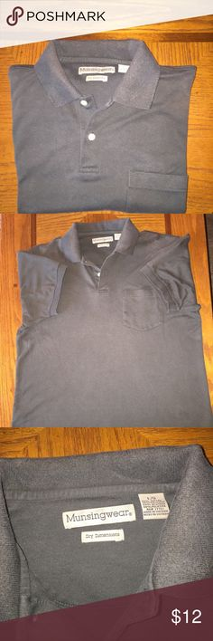 Munsingwear Mens Golf Shirt Size Large Munsingwear Mens Golf Shirt Size Large Used in good shape.  Listing is for item as pictured. (Item #A7) munsingwear Shirts Polos