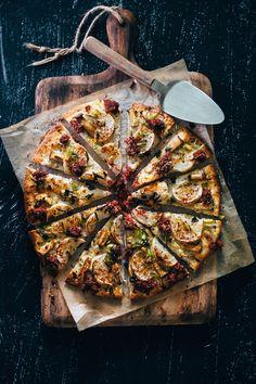 Homemade pizza -