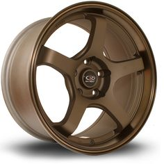 ea35e35bb1f 17 ROTA RT5 BRONZE 9J 5 stud 25 offset alloy wheels Roda