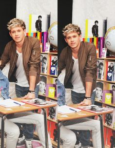 But just imagine: it's your first day if school and you walk into the class and you see a cute blonde boy talking with his friend. As you walk passed him he looks up at you like this^^^~Oslyn One Direction Imagines, I Love One Direction, Irish Boys, Irish Men, Boys Who, My Boys, Cute Blonde Boys, Bae, James Horan