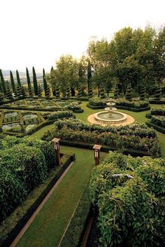 Napa Valley, Italian Garden, Formal Gardens, Modern Gardens, Dream Garden, Beautiful Gardens, Future House, Landscape Design, Beautiful Places