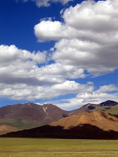 Mongolia. It's so beautiful in the countryside. Looks like you could touch the clouds. I can't wait to go back...