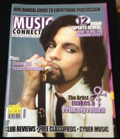 Prince MUSIC CONNECTION Magazine Cover November 1999 Interview and Photos