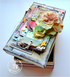 School Memories box by Kelly Foster!