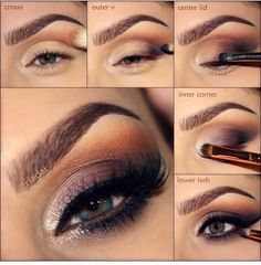 Arabic Eye Makeup Pictorials!! #Beauty #Trusper #Tip