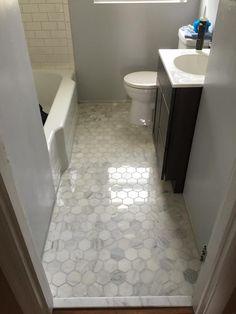 how to install a sheet vinyl floor in 2019   bathroom